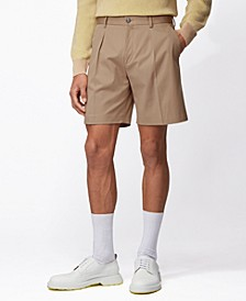 BOSS Men's Pepe Medium Beige Shorts