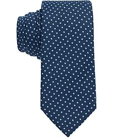 BOSS Men's Open Blue Tie