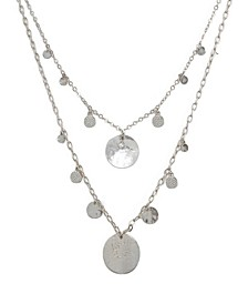 Pacific Princess Layered Shell Disc Women's Necklace Set