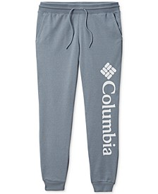Cropped Logo Jogger Pants