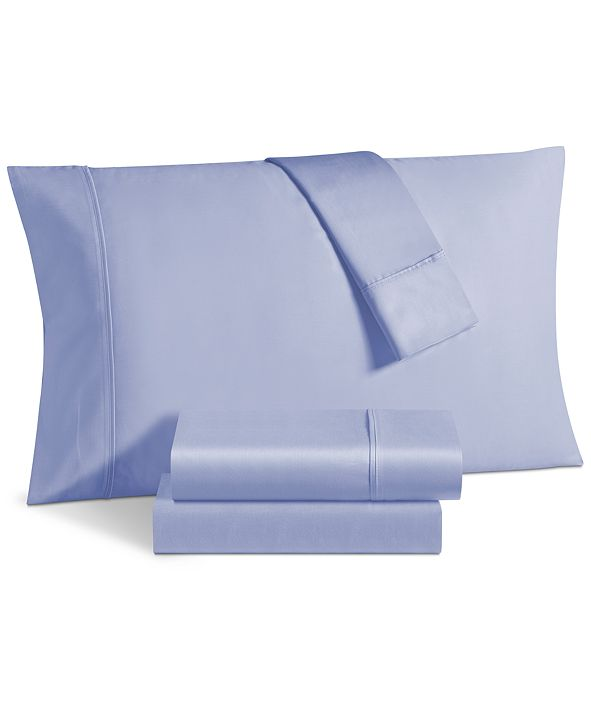 Fairfield Square Collection Aspen 1000 Thread Count Sateen 6-Pc. Solid King Extra Deep Sheet Set