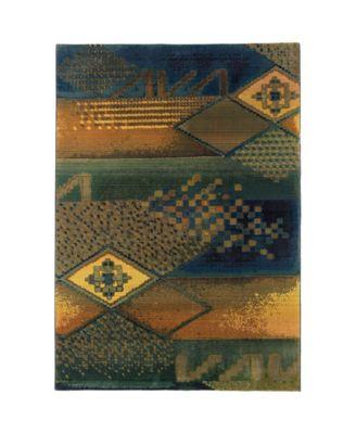 Kismet KIS014 Blue 4' x 5'9