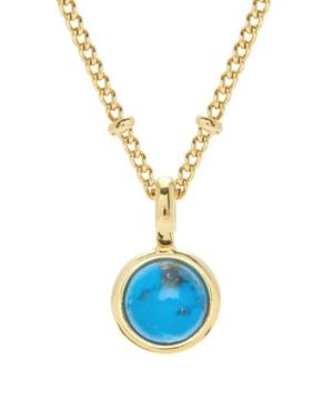 Nola Gemstone Pendant- Turquoise