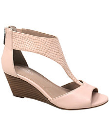 CHARLES by Charles David Gallo Wedge Sandals