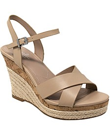 Lazaro Platform Wedge Sandals