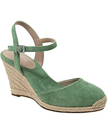 Sherpa Espadrille Wedges