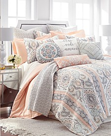 Darcy Reversible Full/Queen Quilt Set
