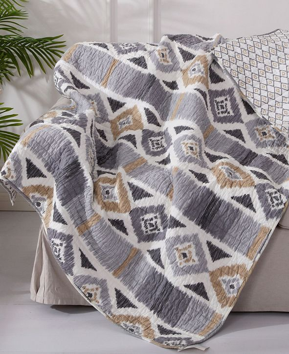 Levtex Santa Fe Reversible Quilted Throw