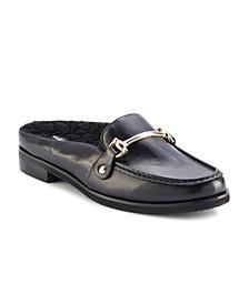 Walker Leather Mule Loafer