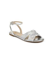 Jewel Badgley Mischka Nicole Dress Flat Sandal