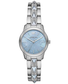 Runway Mercer Three-Hand Stainless Steel Watch