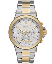 Dylan Chronograph Two-Tone Stainless Steel Watch