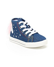 Toddler Girls Hightop Sneakers