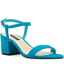 Gloria Block-Heel Sandals