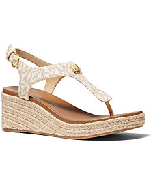 Michael Michael Kors Laney Thong Espadrille Sandals