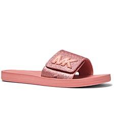 MK Slide Sandals