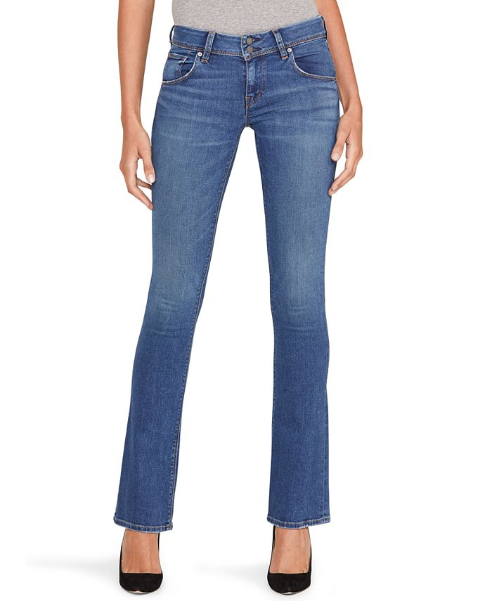 Hudson Jeans - Mid-Rise Baby Bootcut Jeans