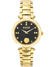 Women's Covent Garden Petite Gold-Tone Stainless Steel Bracelet Watch 32mm