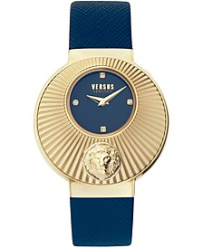 Women's Sempione Blue Leather Strap Watch 38mm