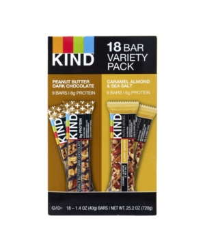 Kind Bar Variety Pack, 18 Count