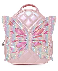 Big Girls Miss Butterfly Quilted Mini Backpack