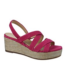Unique Wedge Sandals