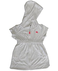 Little Girls Hooded Terry Cover-Up