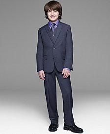 Calvin Klein Fine Line Twill Suit Separates, Big Boys