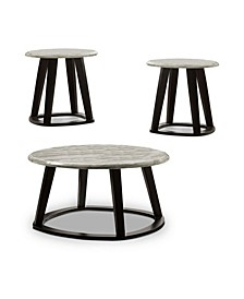 Ives 3 Piece Coffee Table and End Table Set