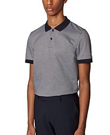BOSS Men's Phillipson 71 Dark Blue Polo Shirt