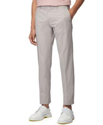 BOSS Men's Crigan Open Grey Pants