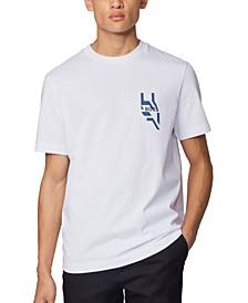BOSS Men's Tames 19 White T-Shirt