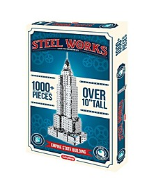 Steel Works Empire State Building Construction Set