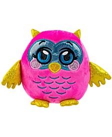 Squeezy, Squishy, Moldable Plush, Stuffed Animal, Owl