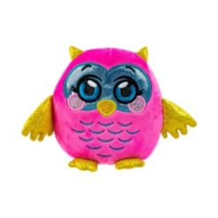 Mushmeez Squeezy, Squishy, Moldable Plush, Stuffed Animal, Owl