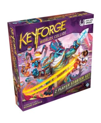 Asmodee Editions KeyForge- Worlds Collide Unique Deck Game Two-Player Starter Set