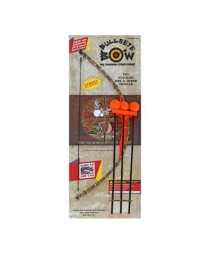 Bullseye Bow Indoor or Outdoor Toy Bow Arrow Set - Soft Safe Orange