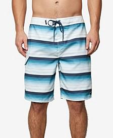 Mens Santa Cruz Stripe Boardshort
