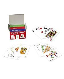 Playing Cards - 3 Decks Animal, Original, 10-Frame