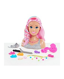 Barbie Dreamtopia Rainbow Styling Head - 22 Pieces