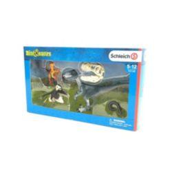 Schleich, Dinosaurs, Three Raptors On The Hunt Toy Figurines