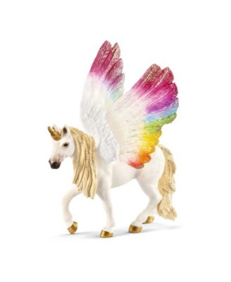 Schleich, Bayala, Winged Rainbow Unicorn Toy Figurine