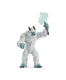 Eldrador Creatures, Ice Monster with Weapon Toy Figurine