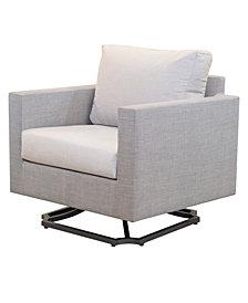 Carleese Outdoor Swivel Chair with Sunbrella® Cushions