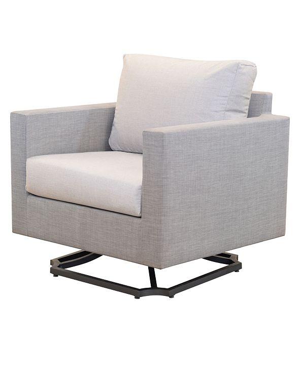 Furniture Carleese Outdoor Swivel Chair with Sunbrella® Cushions
