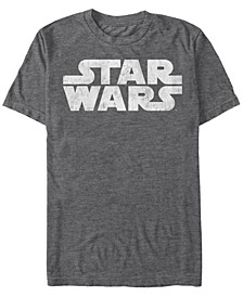 Men's Star Wars Simple Vintage-Like Logo Short Sleeve T-shirt