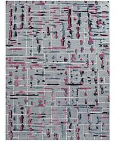 Perla PRL-21 Pink 2' x 3' Area Rug