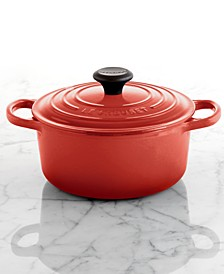 Signature Enameled Cast Iron 2 Qt. Round French Oven