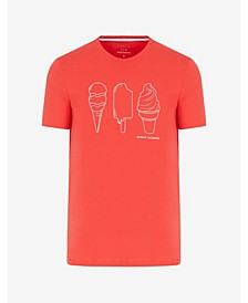 Men's Ice Cream Print T-shirt