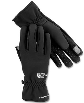 The North Face Gloves, Etip Apex Soft Shell Glove